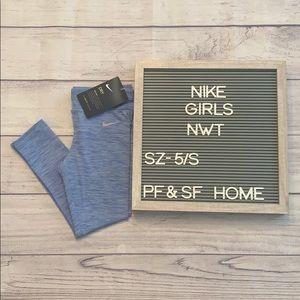 NWT* Nike Girls 5/S Leggings/Yogas